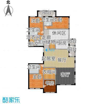 中粮祥云国际生活区287.37㎡户型3室2厅3卫
