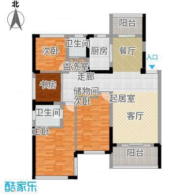 卓锦兰香F户型4室2卫1厨
