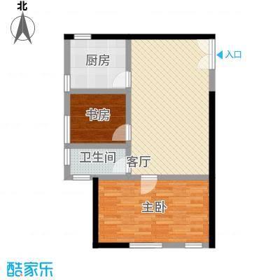 中国铁建・梧桐汇86.00㎡A2-01户型10室