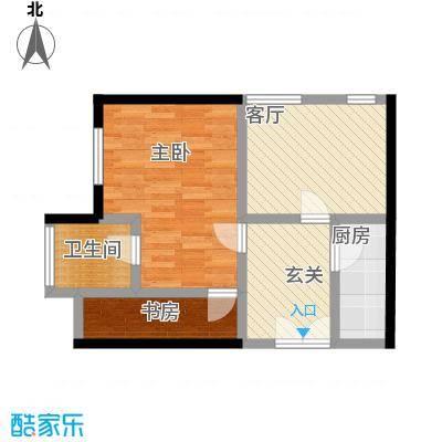中国铁建・梧桐汇75.00㎡C1户型10室