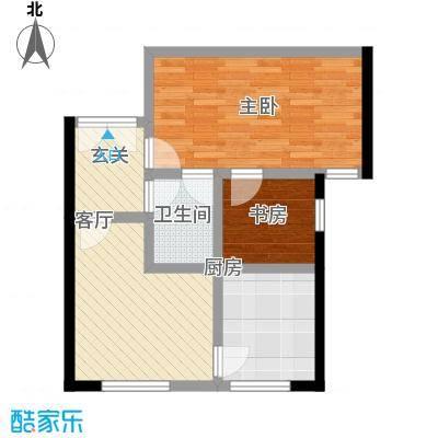 中国铁建・梧桐汇73.00㎡B1※-01户型10室