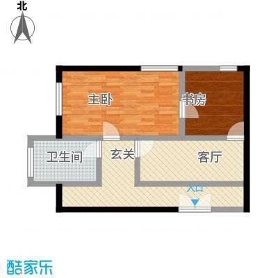中国铁建・梧桐汇80.00㎡C2户型10室