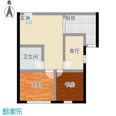中国铁建・梧桐汇78.00㎡B1户型10室