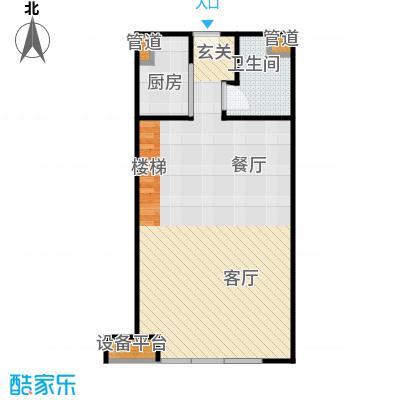 珠江四季悦城1居1层-4户型