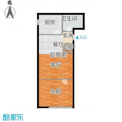 河和居69.00㎡02#09#平层户型10室