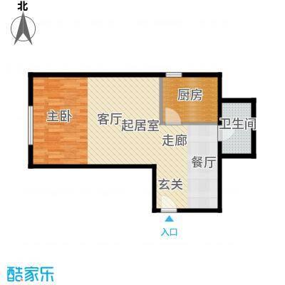 河和居56.00㎡01#10#平层户型10室