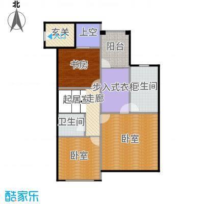 中建・红杉溪谷211.00㎡上叠私密起居层户型3室2卫