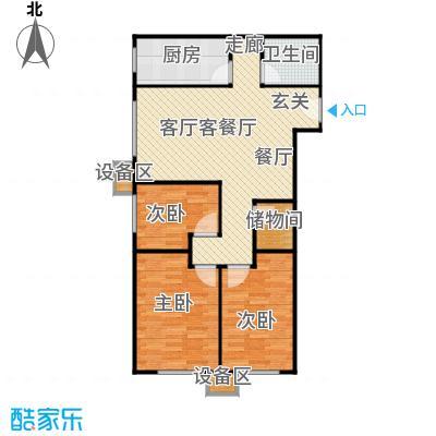北京城建・畅悦居104.00㎡B-3户型