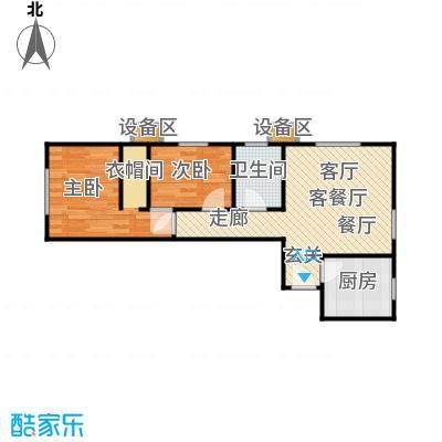 北京城建・畅悦居81.00㎡B-4户型