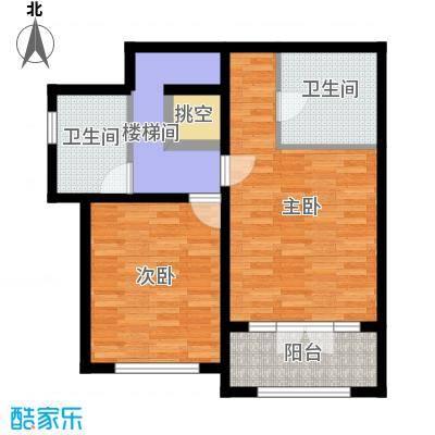 �溪66.81㎡户型10室