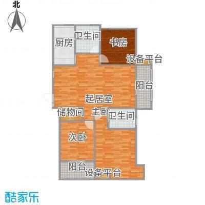 天润国际花园120.00㎡5号楼D户型三房二厅二卫120-132平米户型3室2厅2卫