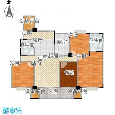 天润国际花园142.00㎡花园洋房户型4室2厅2卫户型4室2厅2卫