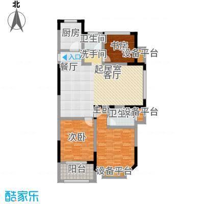 聚盛花园明日星城118.00㎡3房2厅2卫118平米户型3室2厅2卫