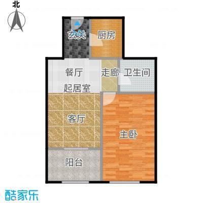 京汉铂寓(石景山)68.00㎡F、F反户型10室