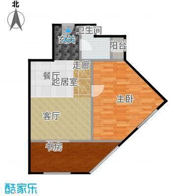 京汉铂寓(石景山)68.00㎡G'户型10室