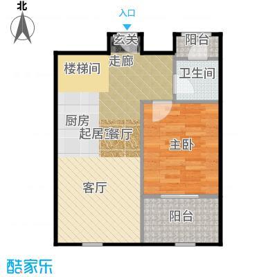 京汉铂寓(石景山)146.00㎡B2、B2反1层户型10室