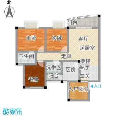 江南水乡(二期)95.38㎡房型: 三房; 面积段: 95.38 -104.75 平方米;户型