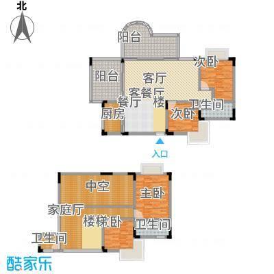 巴蜀怡苑(一期)196.13㎡房型: 其他; 面积段: 196.13 -231.1 平方米;户型