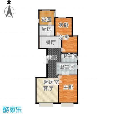 永昌・维多利亚广场C2户型3室2卫1厨