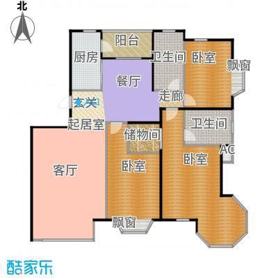 瑞海姆公寓152.00㎡C户型三居户型