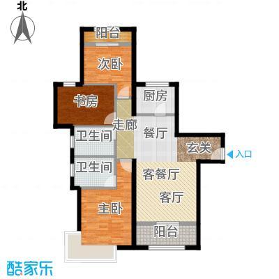 新华联慧谷101.71㎡C户型3室2厅2卫