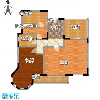 世外桃苑・峰景湾E户型 三楼户型