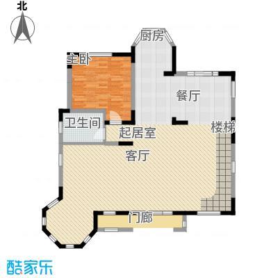 世外桃苑・峰景湾E户型 一楼户型