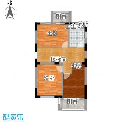 世外桃苑・峰景湾A户型 2楼平面图户型