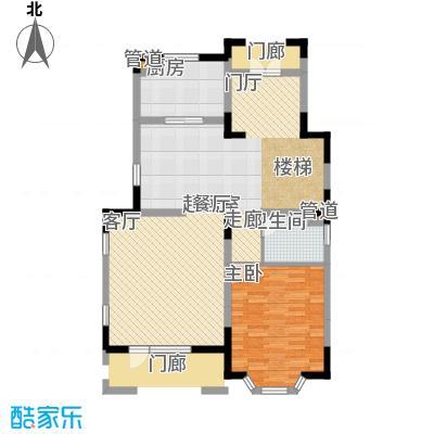 世外桃苑・峰景湾B户型 一楼户型