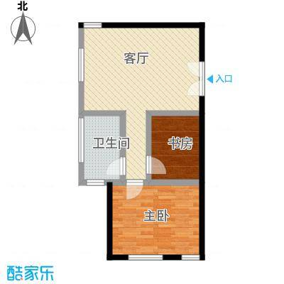 中国铁建・梧桐汇71.00㎡A1户型10室