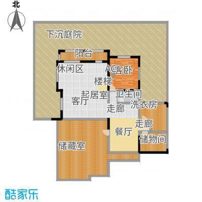 鸿威・翡翠城户型1室1卫