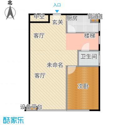 珠江四季悦城3居1层-4户型