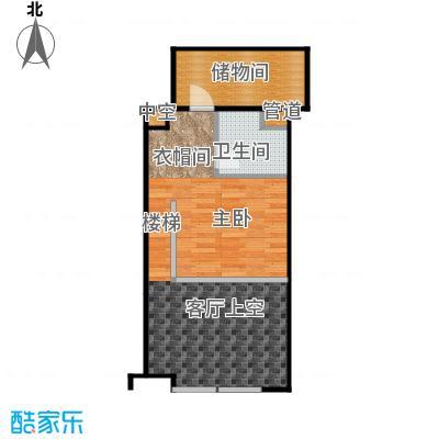 珠江四季悦城1居2层-4户型