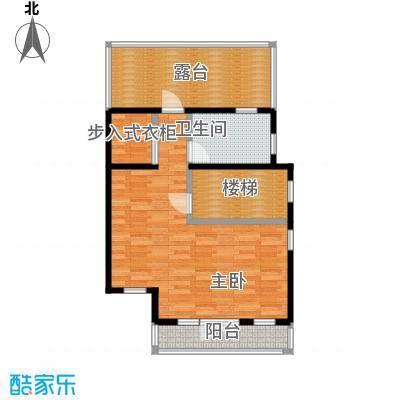 望京西府M三层户型1室1卫