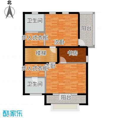 望京西府J二层户型3室2卫