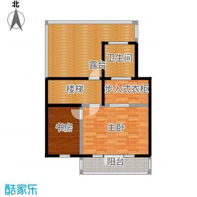 望京西府L三层户型2室1卫