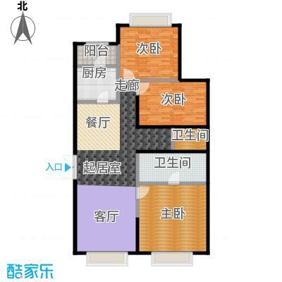 永昌・维多利亚广场D-3户型3室2卫1厨