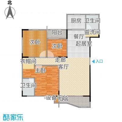 华江.乐天花亭138.05㎡三房二厅二卫-138.05平方米-20套户型
