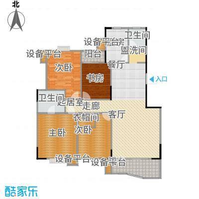 华江.乐天花亭148.99㎡I户型