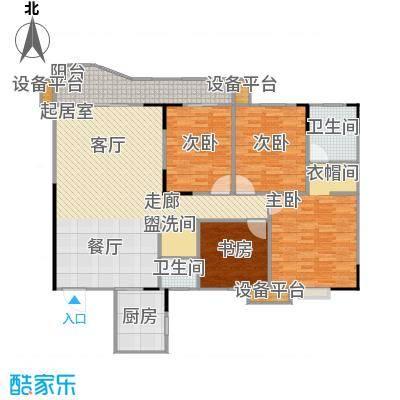 华江.乐天花亭148.99㎡H户型