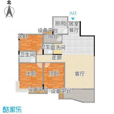 华江.乐天花亭125.62㎡J户型
