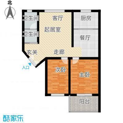 四季美景香樟雅郡90.30㎡二房二厅一卫-90.3平米-16套户型