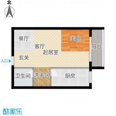 天翔・新新家园(二期)64.96㎡一房一厅一卫-64.96平方米-6套户型