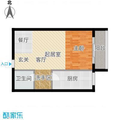 天翔・新新家园(二期)64.89㎡一房一厅一卫-64.89平方米-12套户型