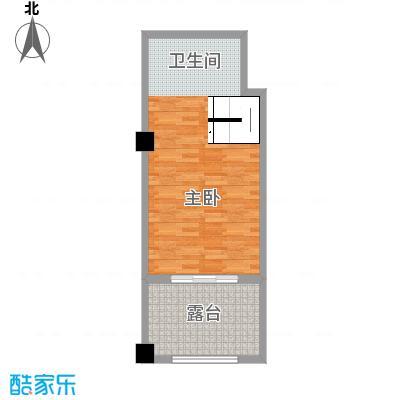 戴斯大卫营49.00㎡酒店精装公寓(复式套房)二层 销售面积49㎡实得面积87.5二㎡户型1室1厅2卫