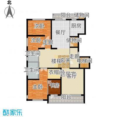 五矿万科・如园250.00㎡北区C2户型3室2厅2卫