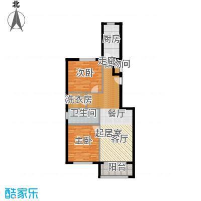 塞纳维拉・永定华庭90.98㎡J户型2室2厅1卫