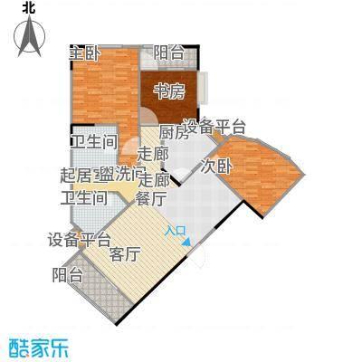 华江.乐天花亭125.62㎡E户型