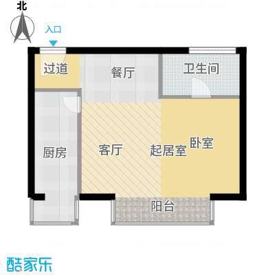悠唐・麒麟公馆70.71㎡8#2座02户型10室