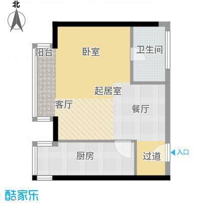 悠唐・麒麟公馆70.63㎡8#1座02户型10室